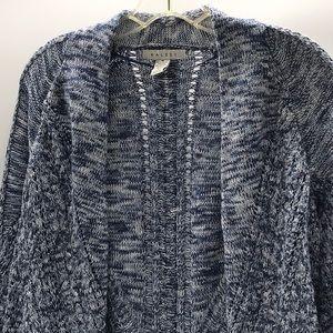 Ralsey ladies blue open cardigan long sleeves M